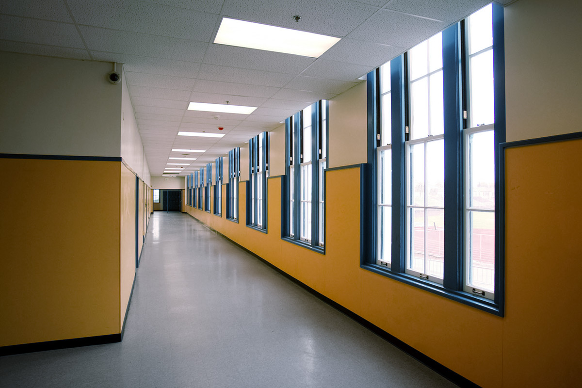Oakland Technical High School Hallway